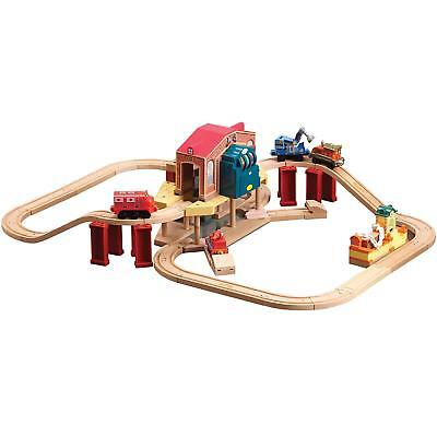 Chuggington Wooden Calleys Rescue Set With Lights & Sounds Kids Playset