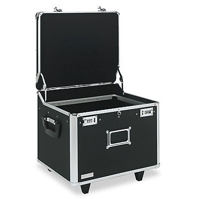 Vaultz VZ01270 Locking Mobile File Chest, Letter/Legal, 15 1