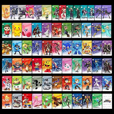Super Smash Bros. Ultimate 73PCS NFC PVC Karten Ken Jungen Link für Switch