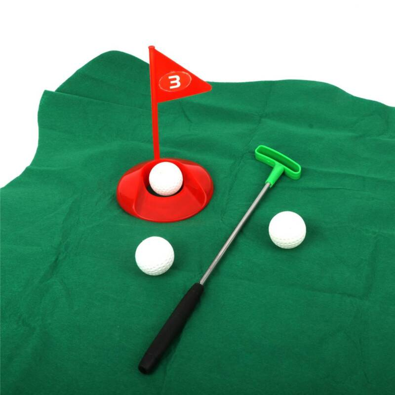 toilet golf potty putter time bathroom game