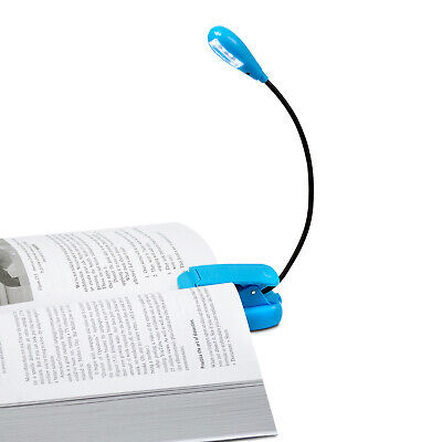 Rechargeable LED Book Light - Clip on Reading Lights - Craft/Night Light