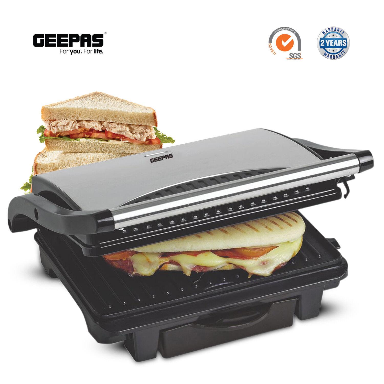 Geepas Panini Press Healthy Grill Non-Stick Powerfull Toaste