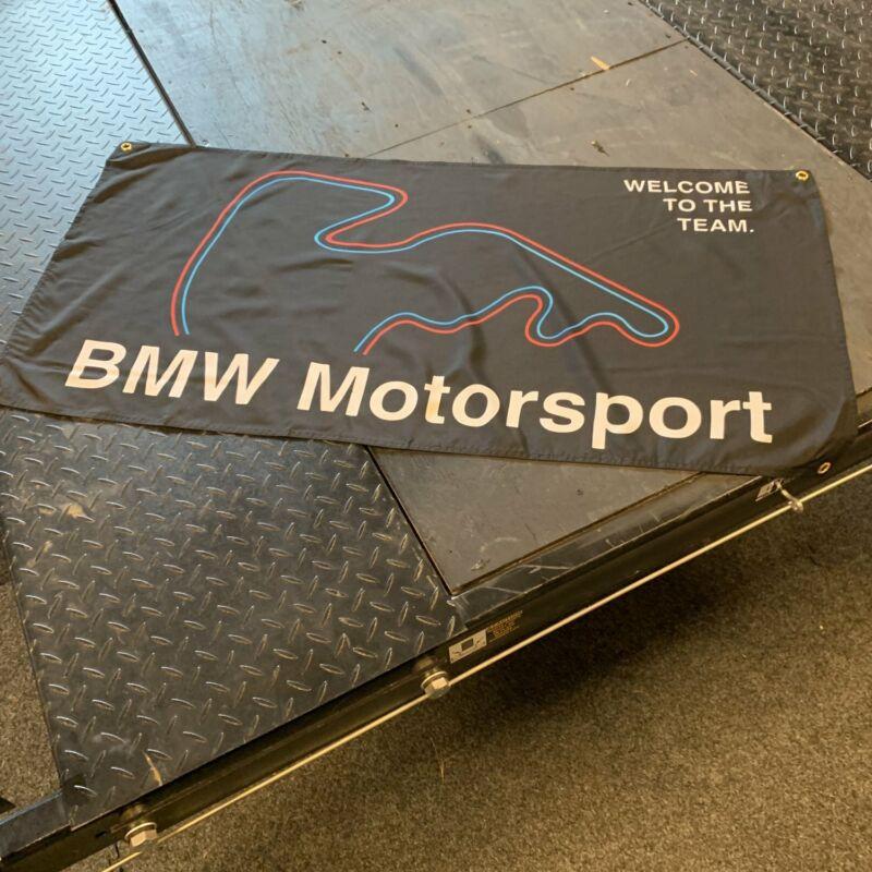 BMW Motorsport Nuremberg Banner Drift GT Class M3 E30 Sport Car Logo Display