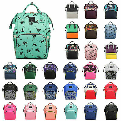 Mummy Backpack Baby Diaper Bag Nappy Backpack Multifunctional Mommy Bag