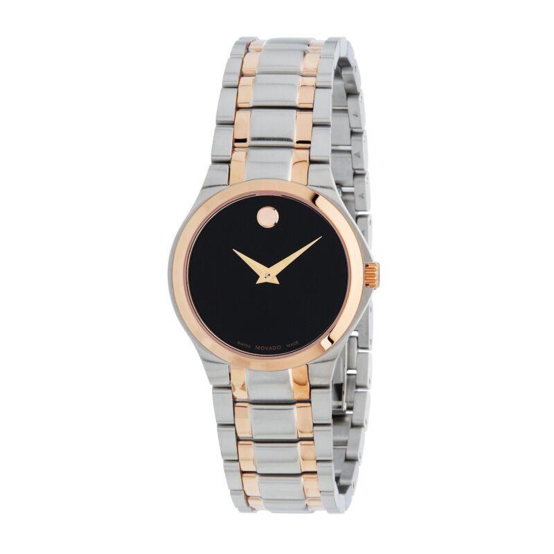 Movado 0607084 Women Movado Collection Black Quartz Watch