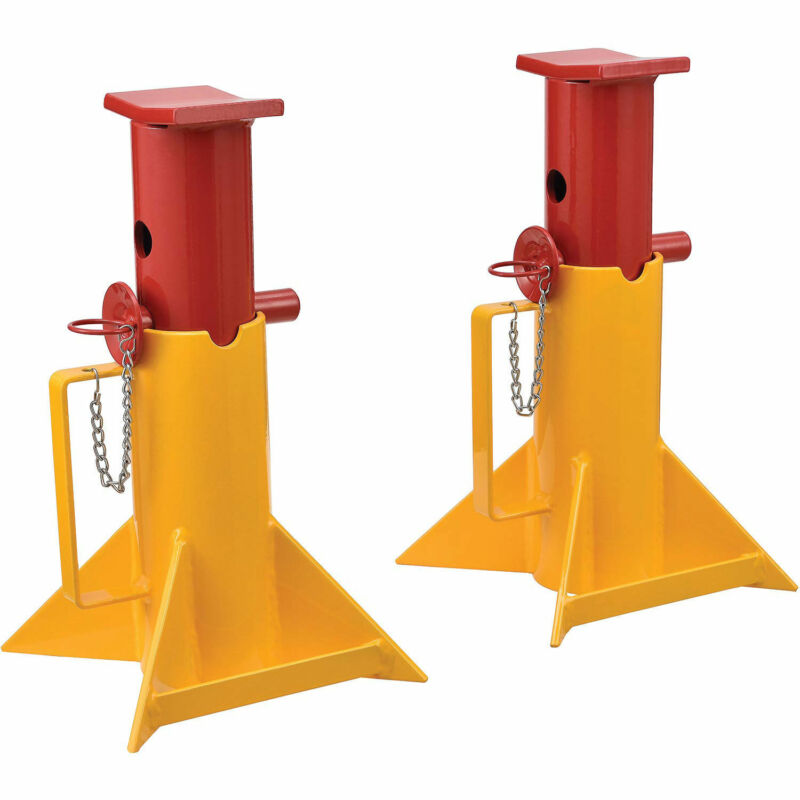 Forklift Jack Stands (Pair) 26,000 Lb. Capacity, Lot of 1