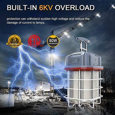 high bay temporary led work light linkable