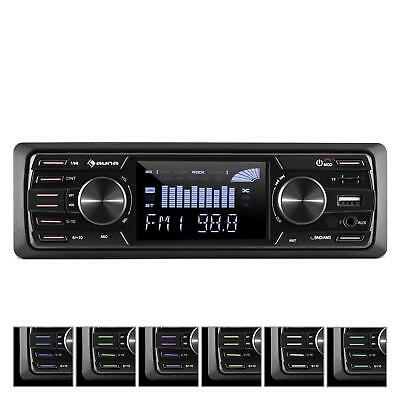 "Radio Coche Sin Cubierta BT USB SD MP3 4x45W  3""LCD AUX HiFi Audio -B-STOCK  segunda mano  España"