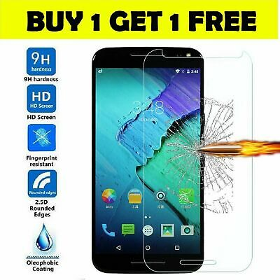 Tempered glass screen protector for Motorola E3 E4 E5 E6 Z3 C X Plus Play 2 pack