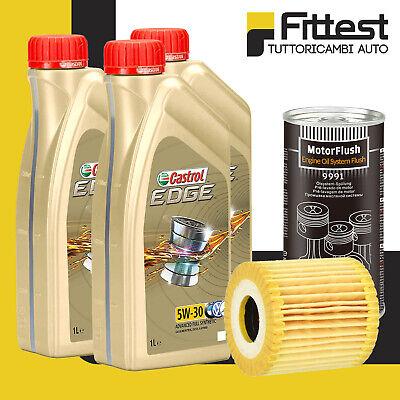 Kit Tagliando Filtro Olio Smart 450 451 ForTwo Benzina/Diesel + Castrol 5W30 +Ad