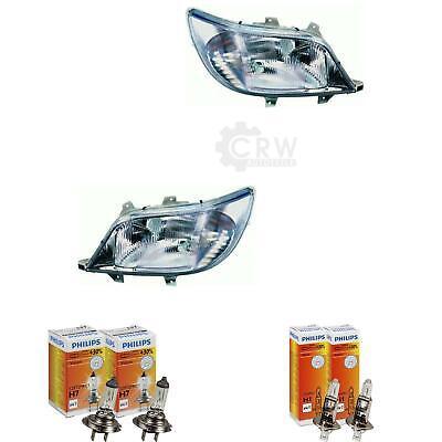 Scheinwerfer Set Mercedes Sprinter Typ T1N Bj. 00-02 Facelift H1+H7 5J8
