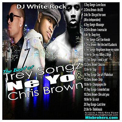 DJ White Rock Best of Trey Songz, Ne-Yo & Chris (Best Of Chris Brown)