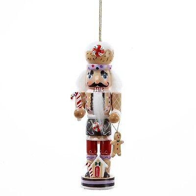 Gingerbread Man Nutcracker Wooden Christmas Ornament - Gingerbread Decorations