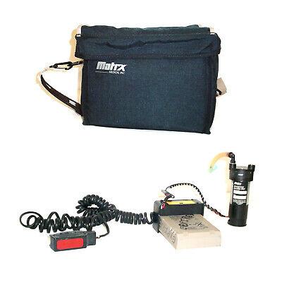 Matrix Medical Emergency Suction Pump Unit Wbattery Pack Carry Case 2