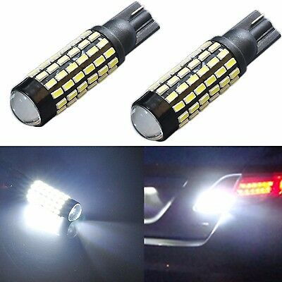 Jdm Astar Backup Reverse Back Up Led Lights Bulbs 2X 78Smd White 921 912 T10 15