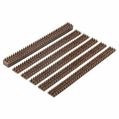 Bird Spikes - Set of 10 x 48.8 Cm Anti-climbing Security for Animals or Birds