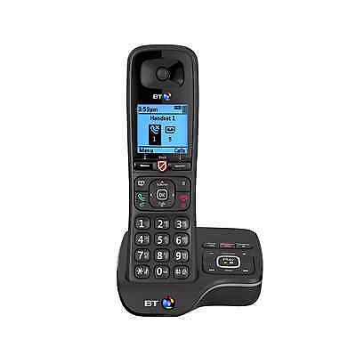 BT 6600 Single Telephone - Dect phone with answer machine