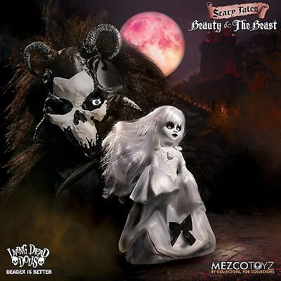 Living Dead Dolls Scary Tales Beauty & The Beast Set of 2 Pre-Order