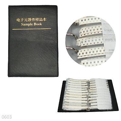 8500pcs 170 Values Rc0603 1 Smd Resistors Assortment Kit Sample Book 0603
