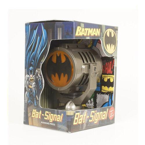 """Batman Bat Signal Projector Lamp Die-Cast Replica DC Comics Collectible Gift 5"""""""