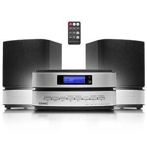 Duronic RCD144 Micro Hi-Fi Audio System CD MP3 CD USB AM FM Radio SD Card Aux