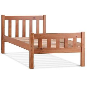 Wooden Single Bed Ebay