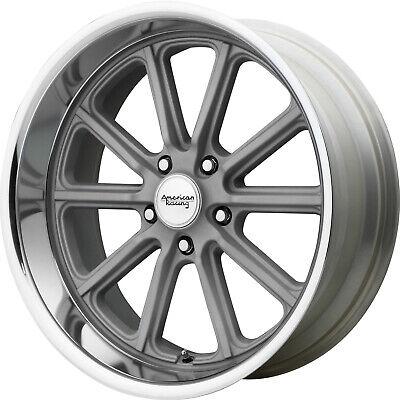 4 - 17x8 Gray Wheel American Racing Vintage Rodder VN507 5x4.75 0