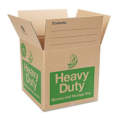 Duck Heavy-duty Movingstorage Boxes 16l X 16w X 15h Brown 280728