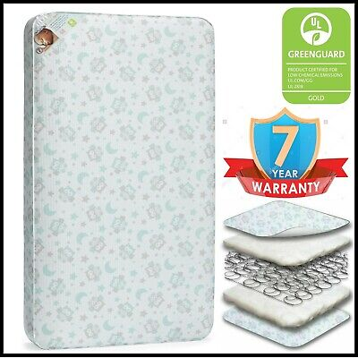 Extra Firm Infant Crib Mattress Toddler Bed Cushion Hypoalle