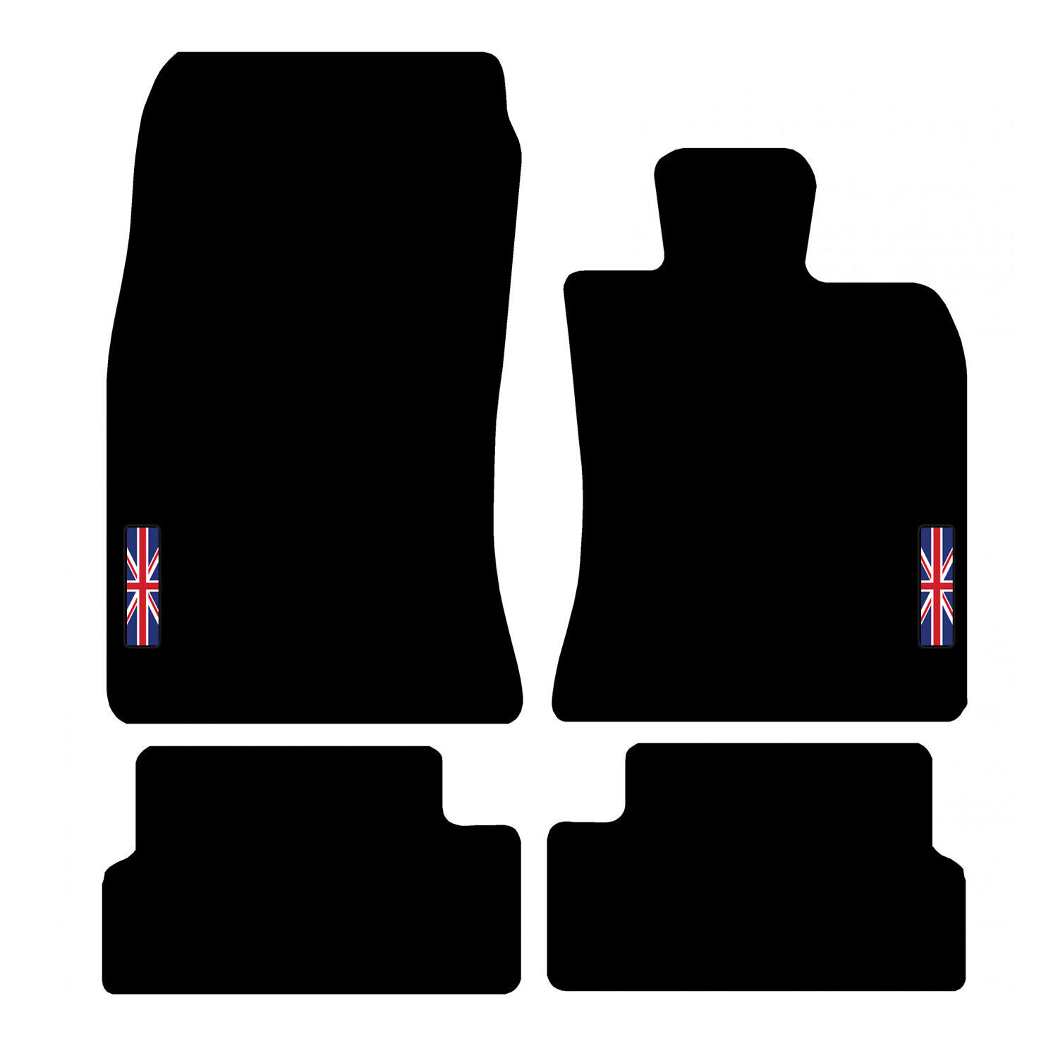 Car Parts - Tailored Carpet Car Floor Mats FOR MINI 2006 to 2013 (R56) with logo
