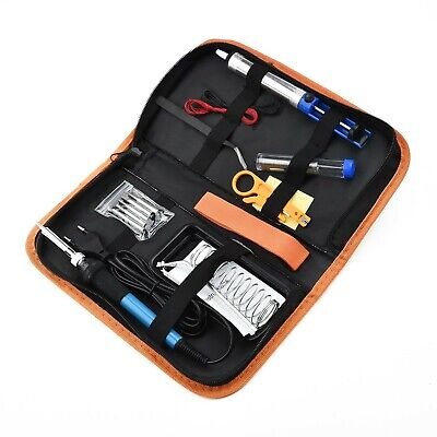 15 Lötkolben Set Elektronik 60W Digital-Lötstation Temperatur 200-450°C Regelbar