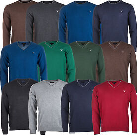 Mens Gant V-Neck Jumpers
