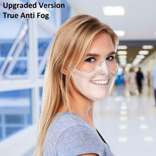 Durable Mask Face Shield Plastic Reusable Clear Face Mask Transparent,Anti fog