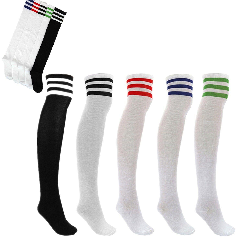 Overknees Strümpfe  Overknee Socken warm für Damen Mädchen Teenager Farbewahl