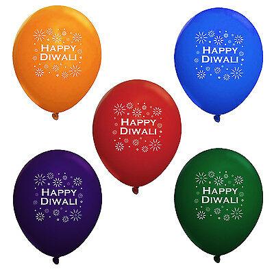 Diwali Holiday Party Supplies (Diwali Balloons 10 pack) USA FAST SHIPPING