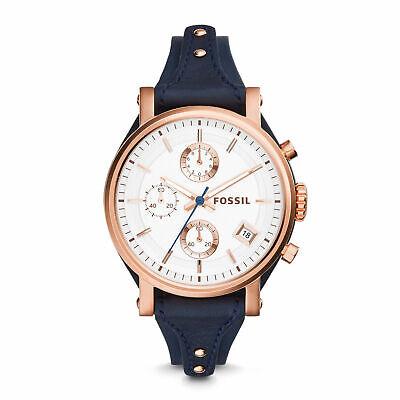 Fossil ES3838 Rose Gold Tone Case Women's Watch