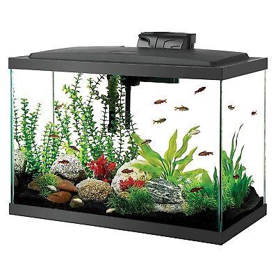 Aqueon Aquarium Fish Tank with complete setup in excellent condition