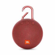JBL Clip 3 Portable Waterproof Bluetooth Speaker Red *Authorized Dealer*