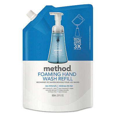 Method Foaming Hand Wash Refill Sea Minerals 28 oz Pouch 00667