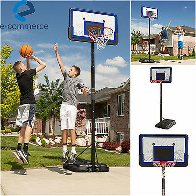 "Lifetime Pro Court Portable Outdoor Basketball Goal Hoop Sys w/ 44"" Backboards"