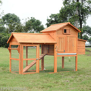 PawHut-Deluxe-Wood-Chicken-Coop-Nesting-Box-Backyard-Poultry-Hen-House-w-Run