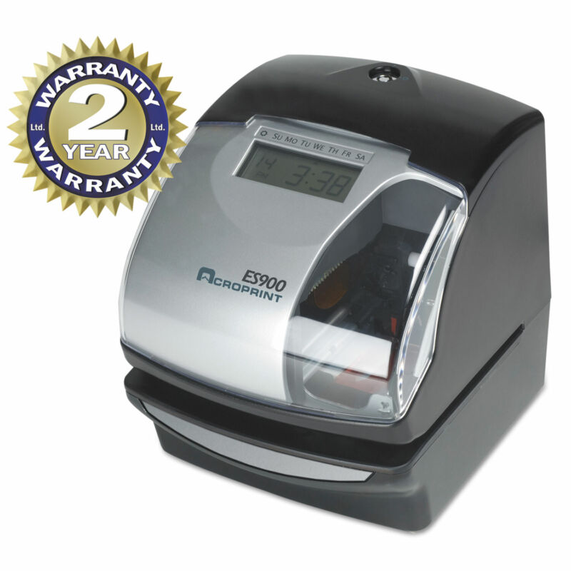 Acroprint ES900 Digital Automatic 3-in-1 Machine Silver and Black 010209000