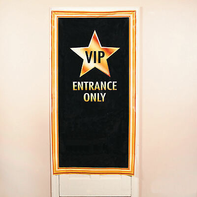 VIP Entrance Door Cover Red Carpet Party Movie Night Birthday Office