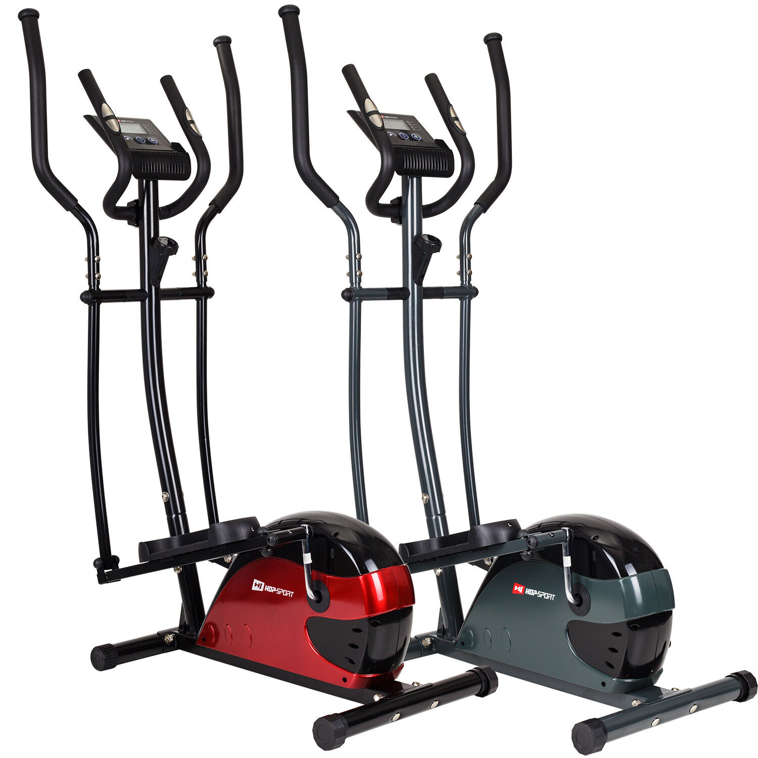 Hop-Sport Crosstrainer HS-4030 Nordic Walking Stepper Ellipsentrainer bis 120 kg