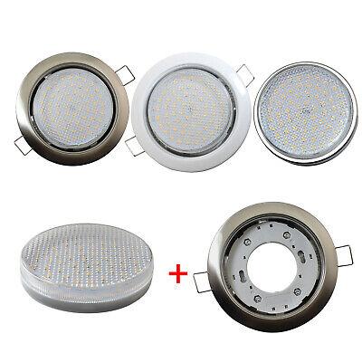 1er 4er Einbaustrahler Set Einbauleuchte GX53 Strahler 3.5W 350lm LED Warmweiß ()
