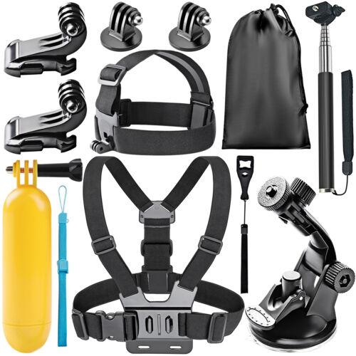 Neewer 8-in-1 Accessories Kit for GoPro Hero 4 Black Silver Hero HD 3+ 3 2 1