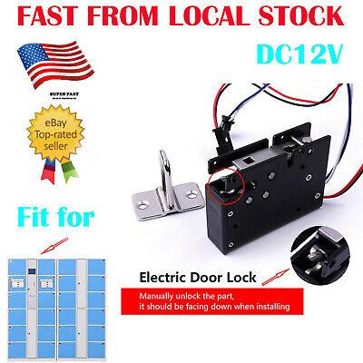 Electronic Detect Lock Dc12v Electromagnetic Locks Drawer Mailbox Cabinet Latch