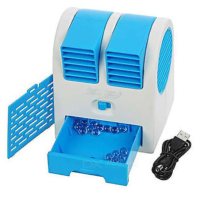 Mini Portable Fan Cooling Cooler Bladeless Air Conditioner with Water Tray for sale  Indore