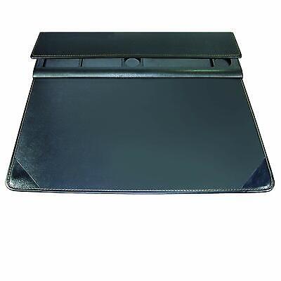 Artistic Executive Desktop Organizer Desk Pad Mat 17 X 22 Black