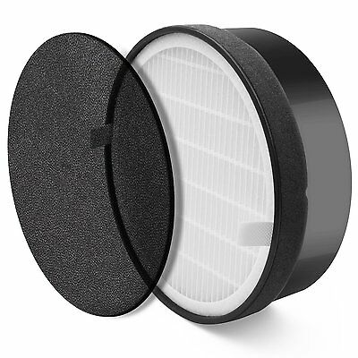 Levoit Air Purifier LV-H132 Replacement Filter, True HEPA and Activated Carbon